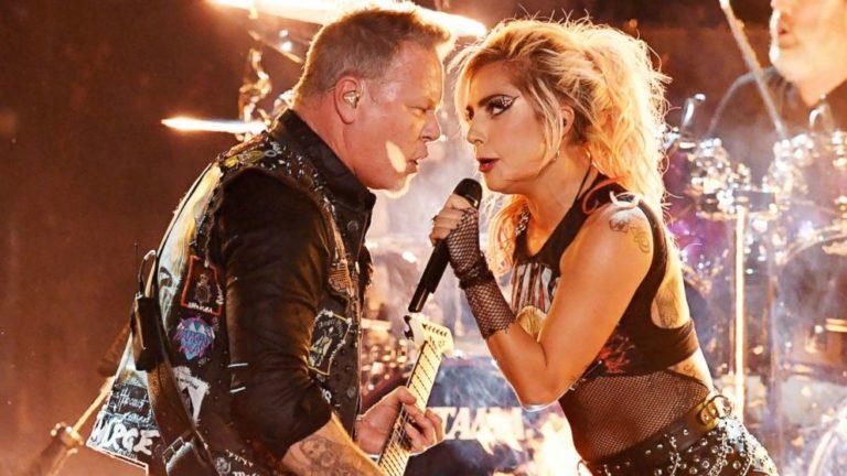 Металлика и Леди Гага