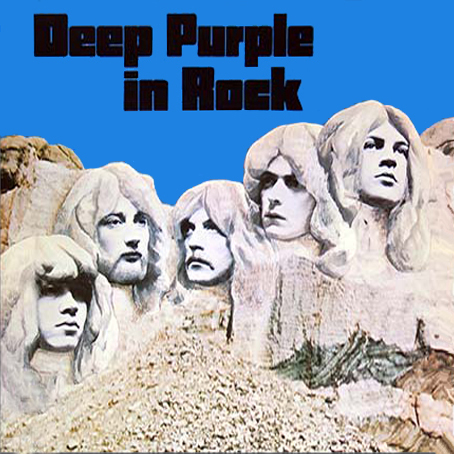 "Deep Purple ""In Rock"", 1970."