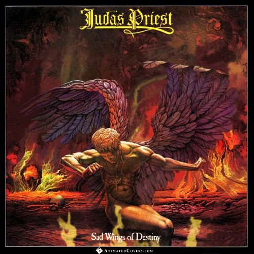 "Judas Priest ""Sad Wings Of Destiny"", 1976."
