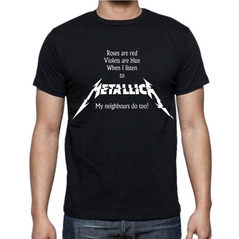Футболка Metallica 18