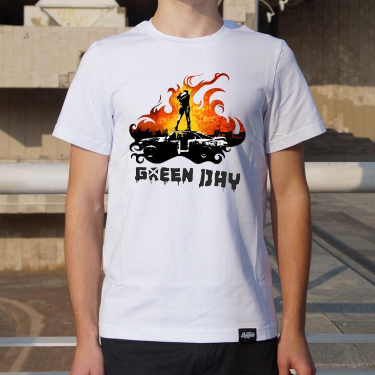 Купить Футболка Green Day 3