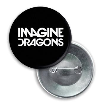 Купить Значок Imagine Dragons -01