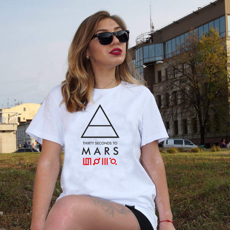 Футболка 30 seconds to Mars 14