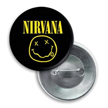 Купить Значок Nirvana -01