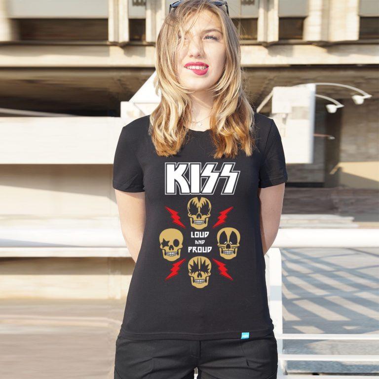 Футболка KISS 04