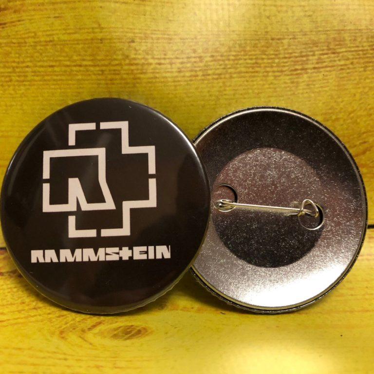 Купить Значок Rammstein -02
