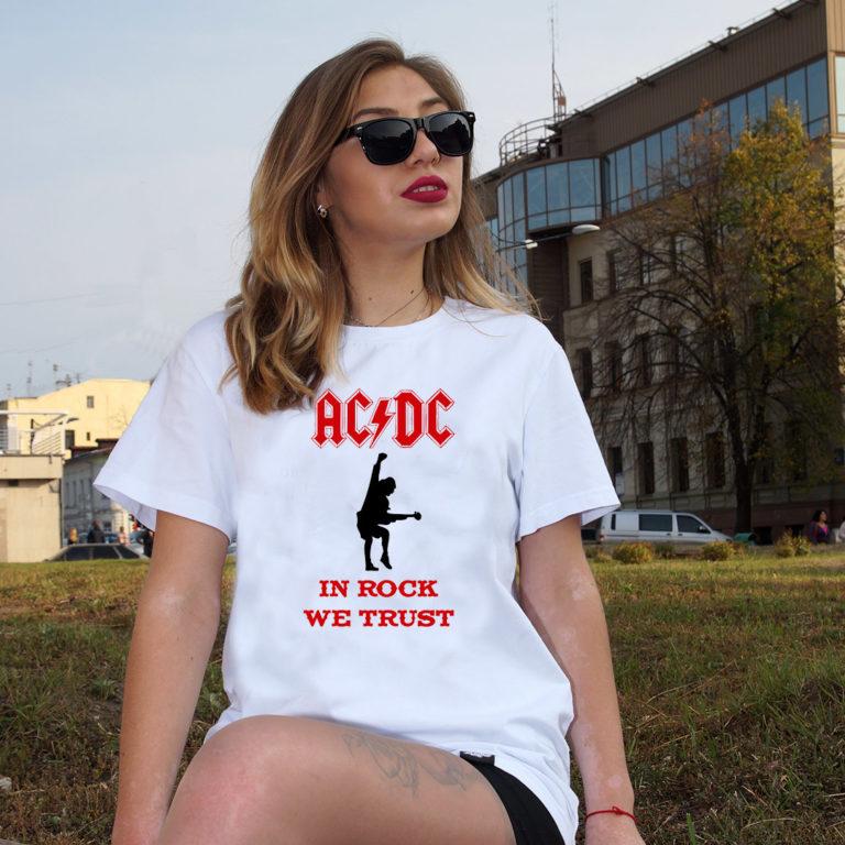 Купить Футболка AC DC 1