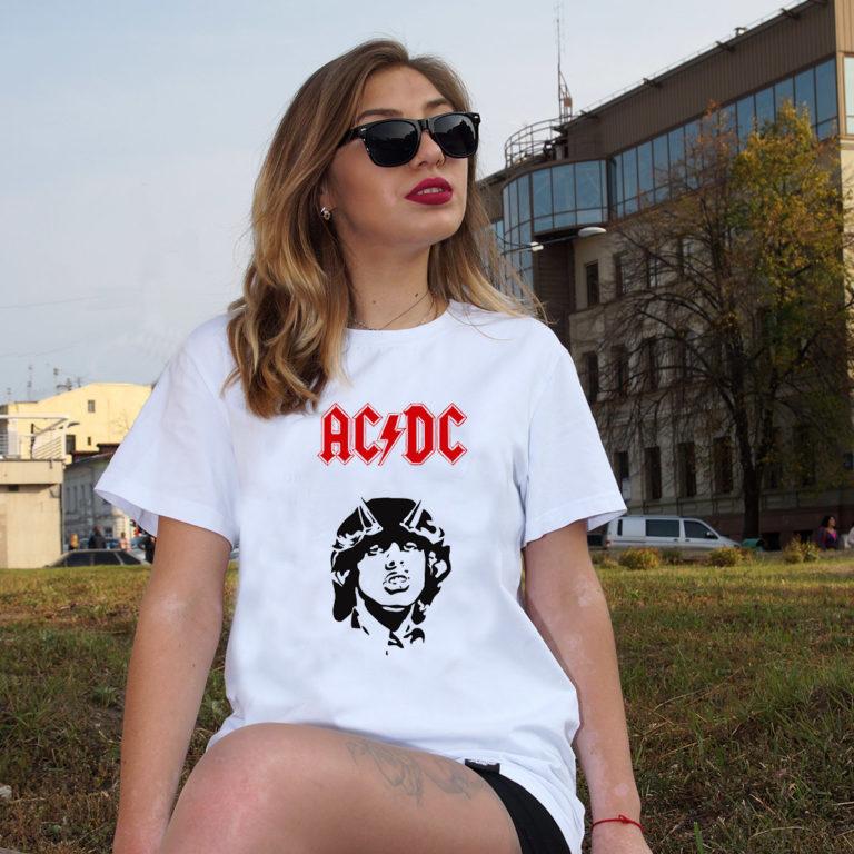 Футболка AC DC 3