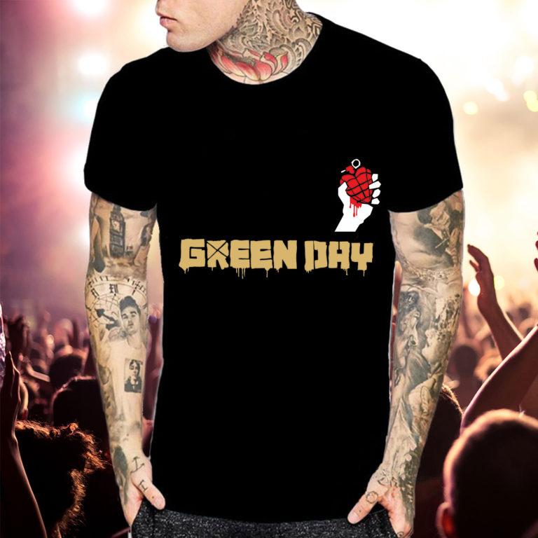 Футболка Green Day 4