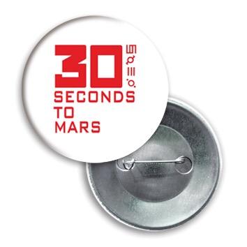 Купить Значок 30 seconds to mars
