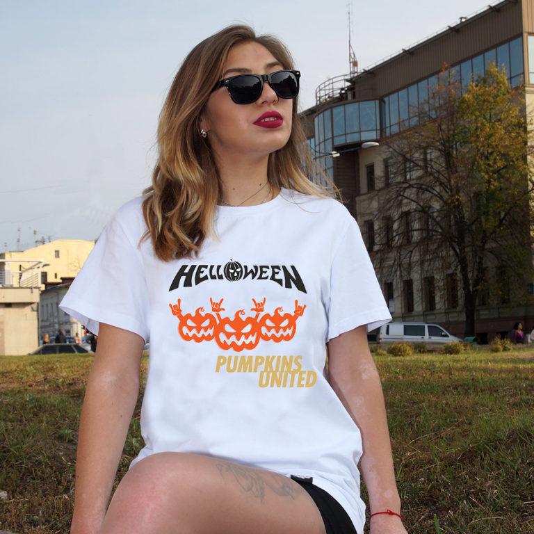 Футболка Helloween 6