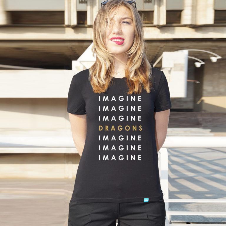 Футболка Imagine Dragons -5