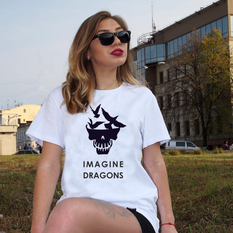 Купить Футболка Imagine Dragons - 4