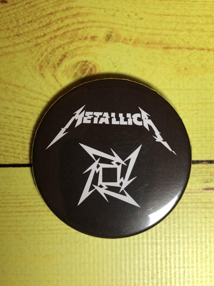 Значок Metallica -1
