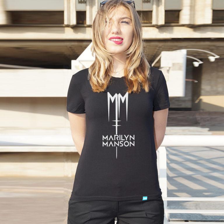 Футбола Marilyn Manson 9