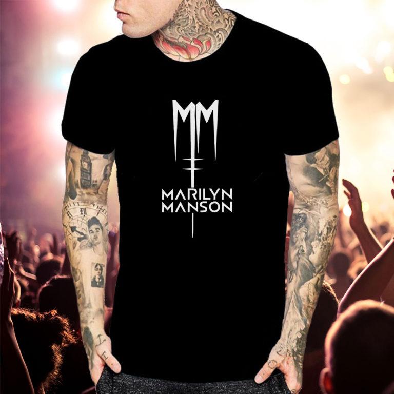Футболка Marilyn Manson 3