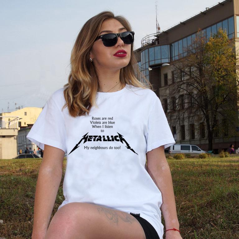 Футболка Metallica 17