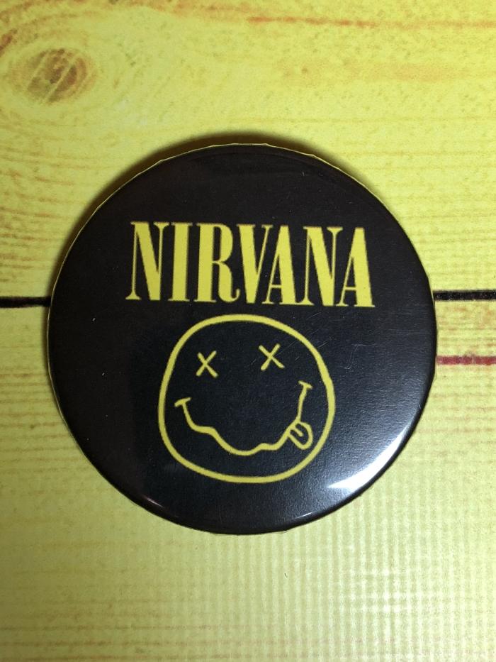 Значок Nirvana -01