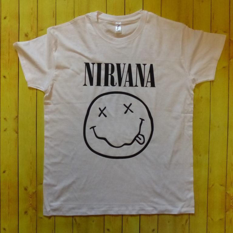 Цена Футболка Nirvana -1