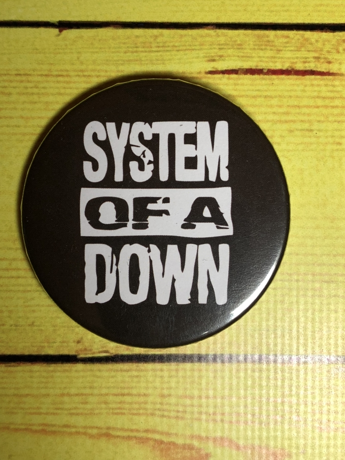 Значок System Of a Down -1