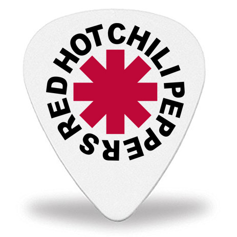 Медиатор Red Hot Chili Peppers 1