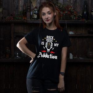 рок футболка