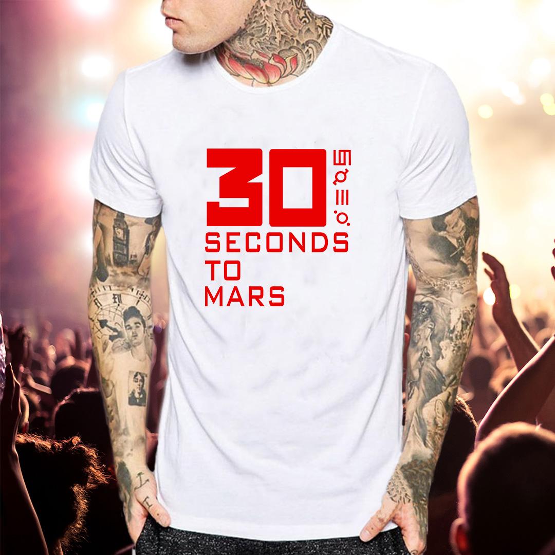 футболка 30 секунд до Марса