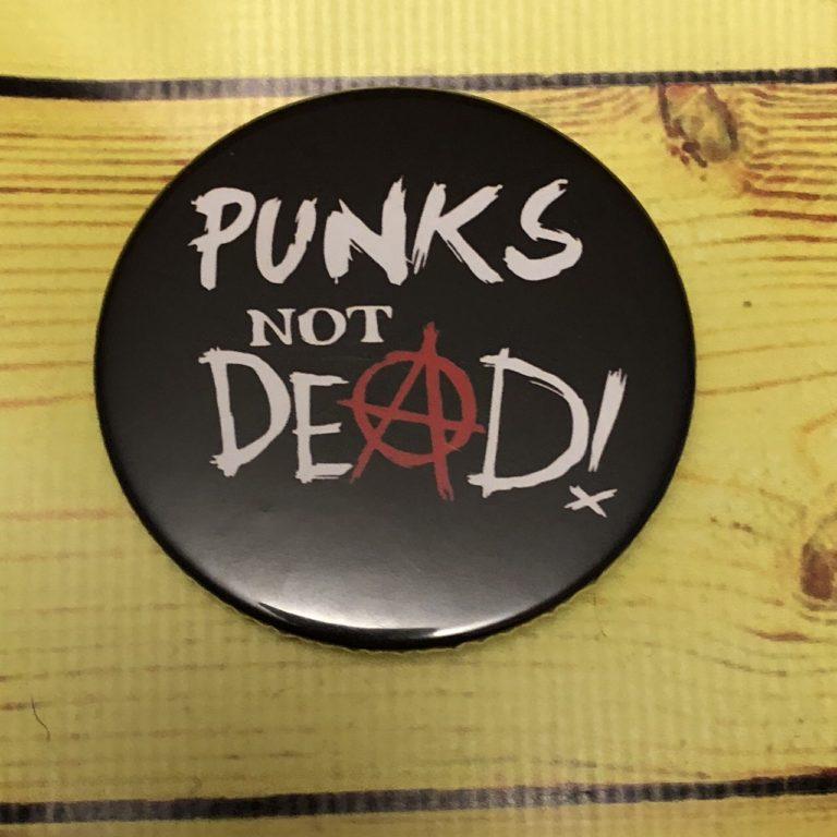 Значок Панк музыка 1