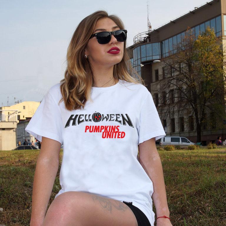 Купить Футболка Helloween 8