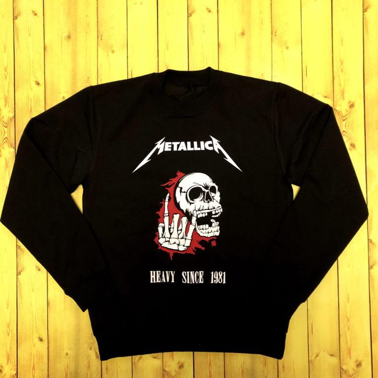 Купить Свитшот Metallica 1