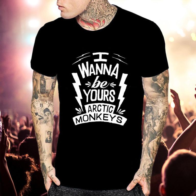 Купить Футболка Arctic Monkeys 09