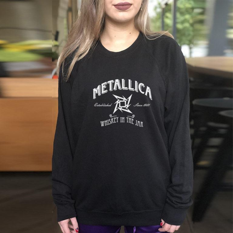 Свитшот Metallica 8