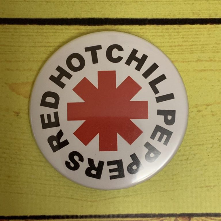 Значок Red Hot Chili Peppers