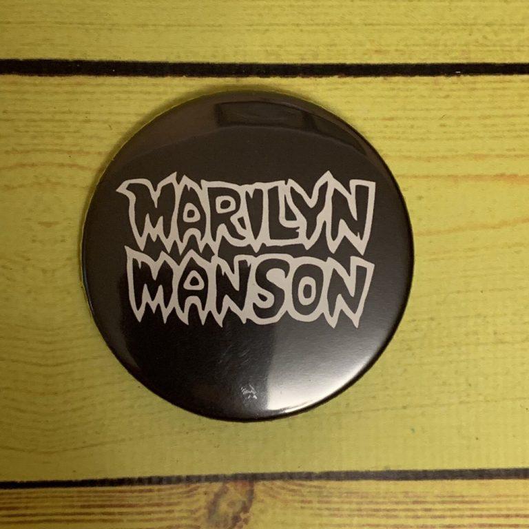 Значок Marilyn Manson