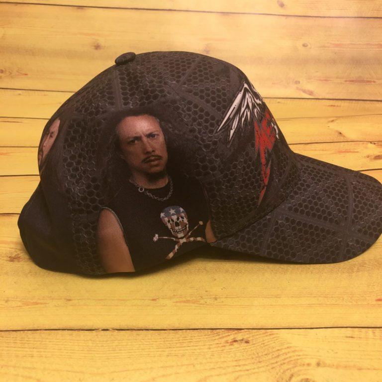 Купить Бейсболка Metallica
