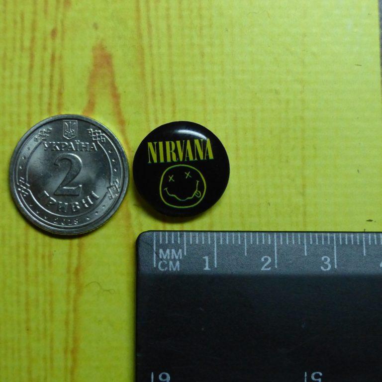 Купить Пин (значок) Nirvana