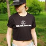 Топ женский Rammstein 3