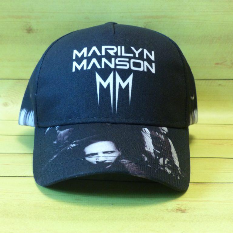 Бейсболка Marilyn Manson 1