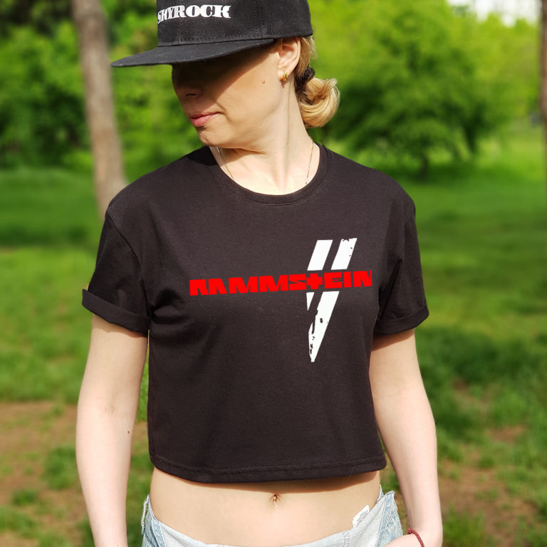 Топ женский Rammstein 9