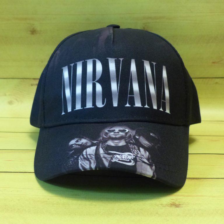Бейсболка Nirvana 2