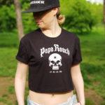 Топ женский Papa Roach 1