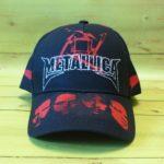 Бейсболка Metallica 3