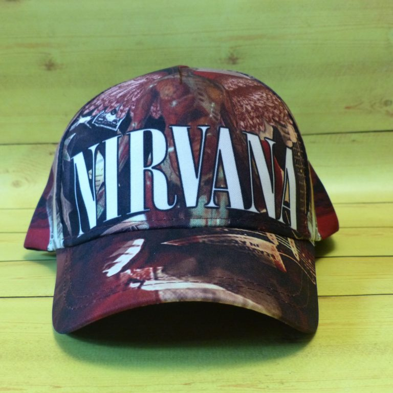 Бейсболка Nirvana 3