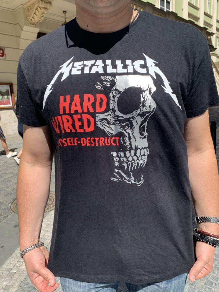 Футболка Metallica 30