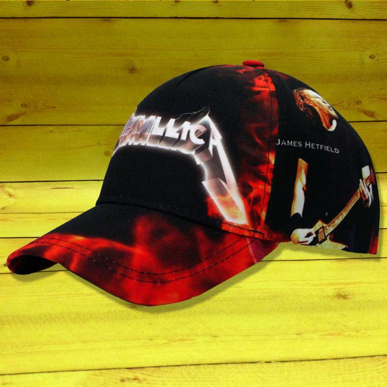 Бейсболка Metallica 4