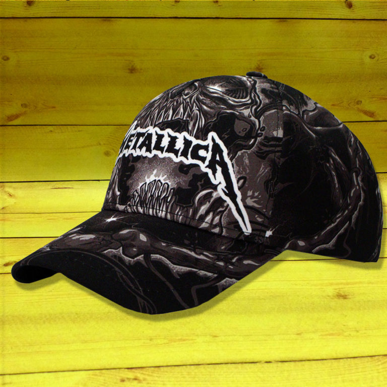 Бейсболка Metallica 5