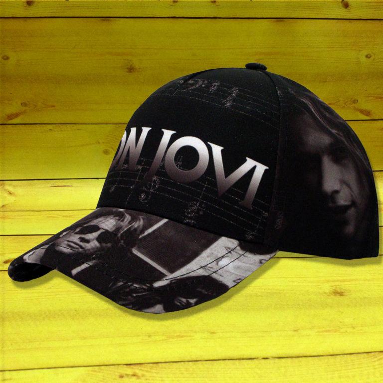 Бейсболка Bon Jovi 1