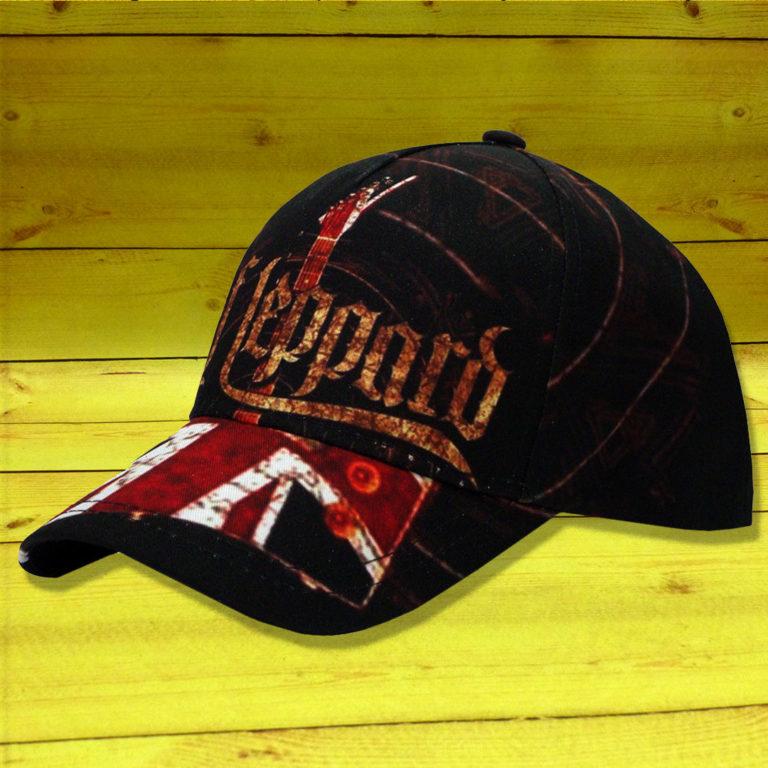 Бейсболка Def Leppard 1