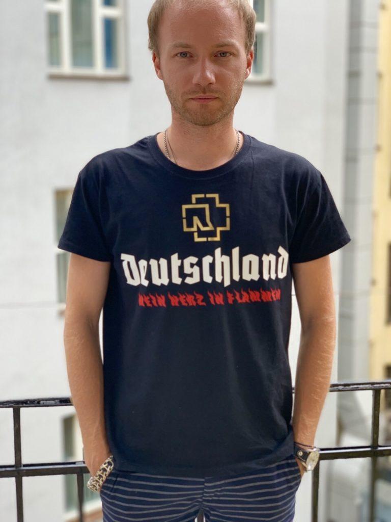Футболка Rammstein 40