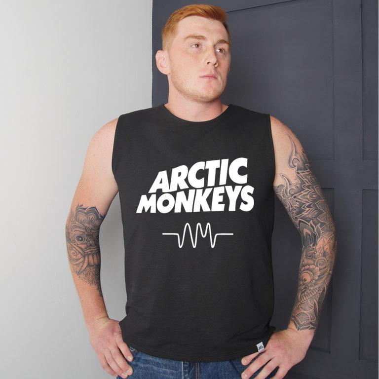 Футболка удлиненная Arctic Monkeys 4
